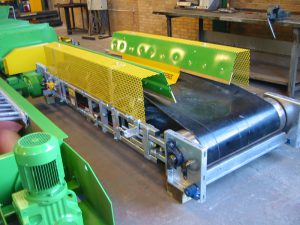 Conveyors and filling equipment
